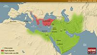Les conquêtes arabes 634-660