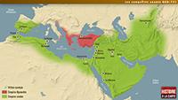 Les conquêtes arabes 660-751