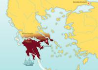L'indépendance de la Grèce