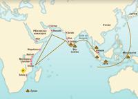 Le commerce dans l'océan Indien au XVe siècle
