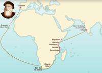 Le voyage de Vasco de Gama 1497-1498