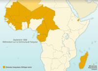 La décolonisation de l'Afrique noire française