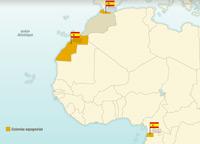L'indépendance des territoires espagnols en Afrique