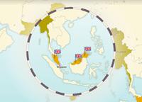 Indépendance de la Birmanie, du Sri Lanka et de la Malaisie