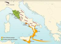 Les peuples en Italie au milieu du premier millénaire avant notre ère