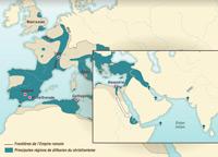La diffusion du Christianisme IIe - IVe siècles