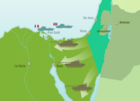 Poursuite du conflit israélo-arabe