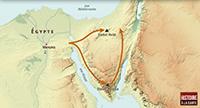 Le cadre géographique du récit de l'Exode