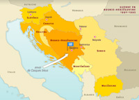 Les guerres dans l'ex-Yougoslavie