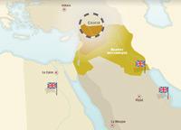 Mandats français et britanniques au Proche-Orient