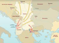 Le front des Balkans septembre-novembre 1918