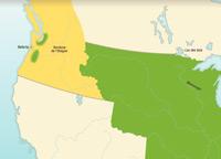 La frontière du Nord et le partage de l'Oregon