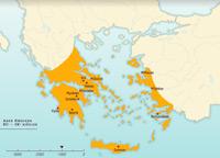 Le monde Grec un espace évolutif